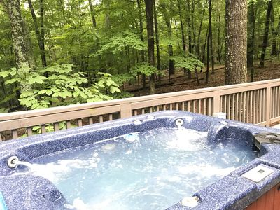Photo for Country Cabin- Private Hot Tub