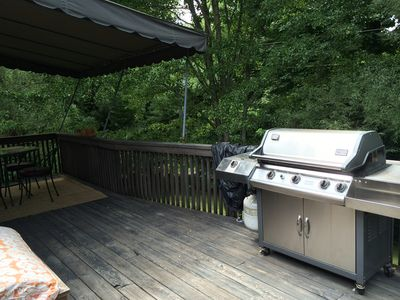 The BBQ on your deck
