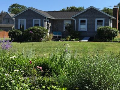 Ocean View/Access from Cottage on Conanicut Island's Beavertail