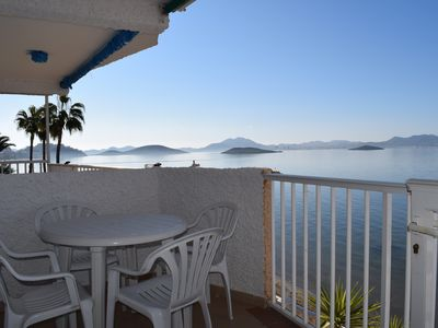 Photo for Special apartment with views of the Mar Menor