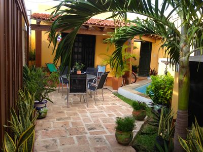 Photo for Cozy Charming Casita with Pool; Centro Historico