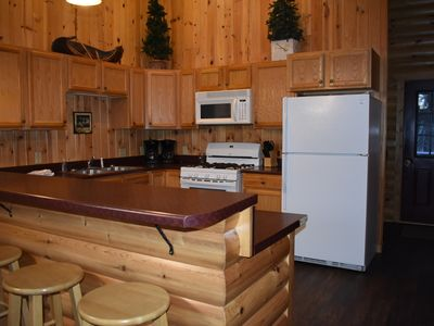 Photo for Large 5 bedroom lakefront cabin in Northern Minnesota