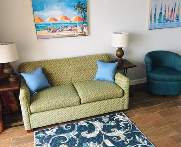 Photo for Breathtaking Views Direct Oceanfront 1bd Condo on the Golden Mile, sleeps 6