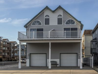 Photo for 6th house to the beach with ocean views from the front deck! Great location, walk to everything!