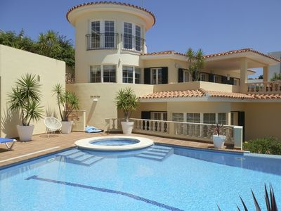 Photo for 5 bedroom Villa, sleeps 10 in Cala Llonga with Pool, Air Con and WiFi