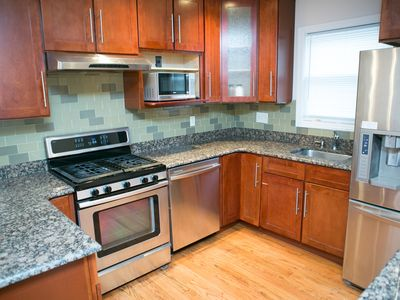 Photo for 30minutes NYC 3BR 2Bathroom, Central AC renovated house with one free parking