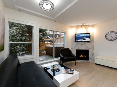 Photo for 120 Glaciers Reach a 2br with hot tub & pool in Whistler Village