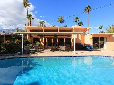 Photo for Early California Style: 3 BR / 2 BA home in Palm Springs, Sleeps 6