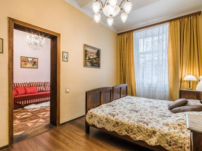 Photo for Vintage apartment in the center of Lviv in an old beautiful Austrian building