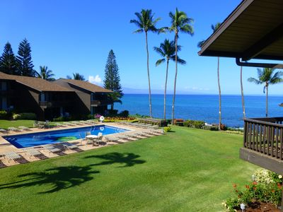 Photo for Peaceful Tropical Oceanfront Vacation Paradise