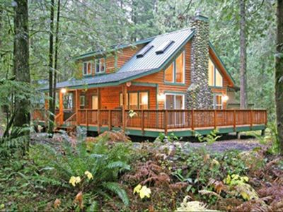 Photo for Mt Baker Retreat with Private Hot Tub & Wifi in Snowline