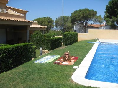 Photo for Sunshine-house(95sqm), Pool (only 9 houses share), Garden, WiFi, walk to Beach