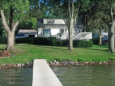 Photo for Beautiful Lake Front Home On Como with boat and motor included