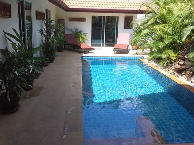 Photo for pool villa 3 bedrooms