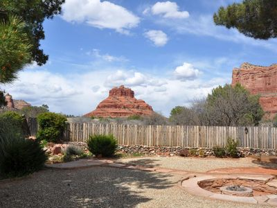 Photo for Trails and unobstructed panoramic views out the back yard!