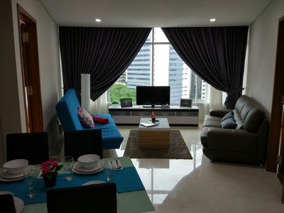 Living room decorated to make you feel at home