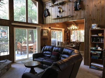 Photo for Walk to the Lake and Village from this Cozy Cabin/ Lake & Trail Passes!