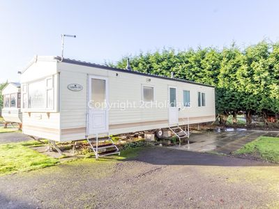 Photo for Great 8 berth caravan for hire at Southview Holiday park, Skegness  ref 33153ML