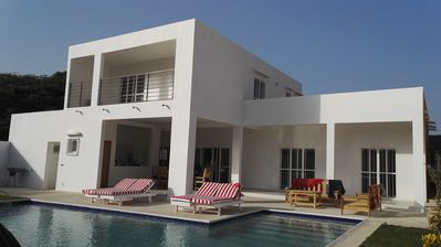 Photo for Superb Modern Villa with 3 bedrooms and private pool in the heart of Saly