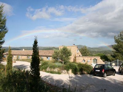 Photo for In a quiet location beautiful view of the village and the surrounding countryside
