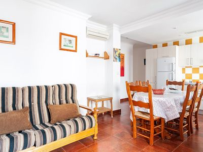 Photo for Beautiful Apartment in City Centre Close to Beach with Balcony, Terrace, Air Conditioning & Wi-Fi