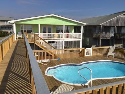 Photo for E1 152 Turn the key and open the door to your dream vacation on the beach. Ocean front with pool .