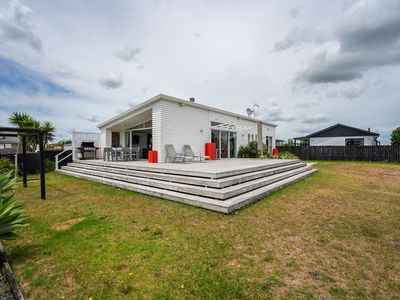 Photo for Relax at Norfolk - Mangawhai Heads Holiday Home
