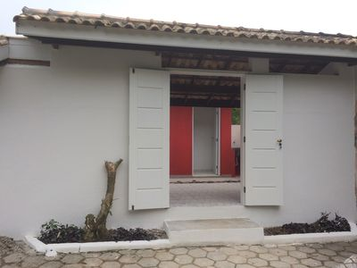 Photo for Chales in gated villa near beach perfect for pets and families