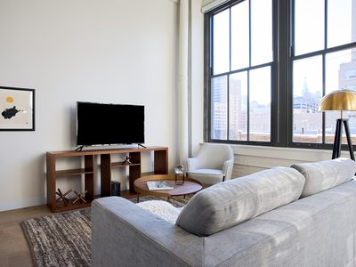 Photo for Sonder | Museum District | Charming 1BR + Kitchen