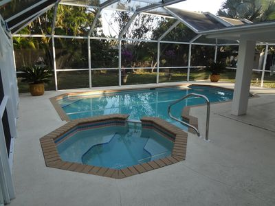 Photo for Stunning Vibrant Vacation Rental With Large Heated Pool And Spa