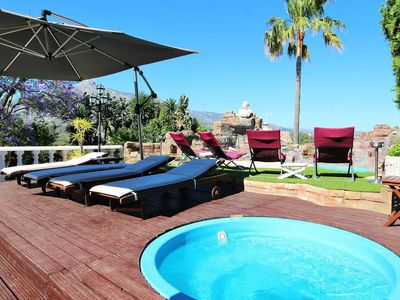 Photo for Heated pool/jacuzzi with Fab views. 5* reviews Villa In Puerto Banus/Marbella
