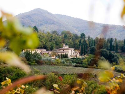 """Photo for """"Le Rose"""" country apartment in a wine and oil estate - Chianti Tuscany"""