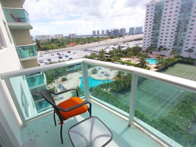 Photo for Modern & Chic 1 BR w/ Balcony on Sunny Isles - One Bedroom Apartment, Sleeps 4