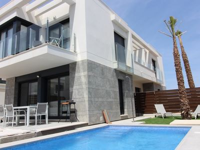 Photo for Beautiful new home with private pool located in Vistabella Golf