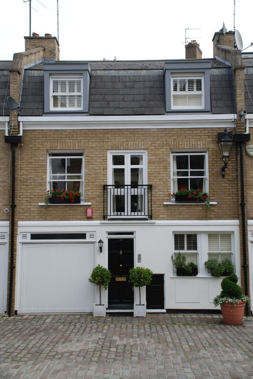 central london 3 bedroom house in a lovely mews - Three Bedroom House