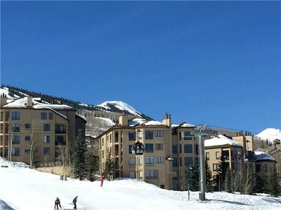 Photo for Cozy Family Condo with Ski-In/Ski-Out, Hot Tub Access, and Wood-Burning Fireplace