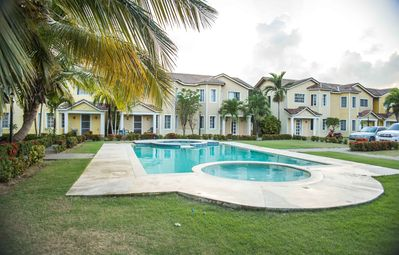 Photo for The Right Spot - Home vacation in Bavaro, pool and 15min from the beach