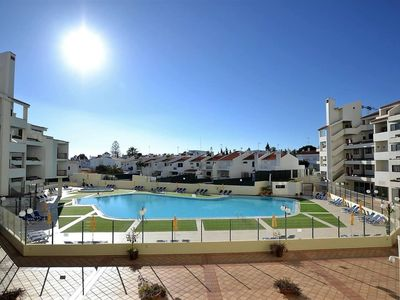 Photo for VILLA MAGNA  apartment in Albufeira with WiFi, shared terrace, shared garden, balcony & lift.