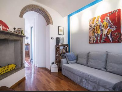 Photo for Spacious Beautiful Savona apartment in Navigli with WiFi, air conditioning & balcony.