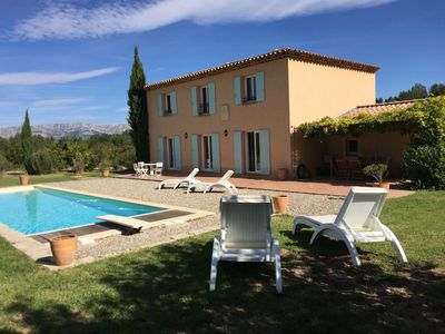 Photo for Superb provencal bastide with views of Sainte Victoire