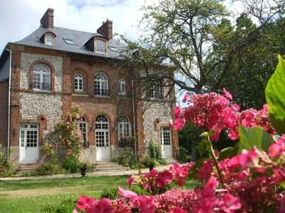 Photo for Authentic norman manor between sea and countryside