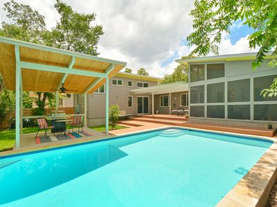 Photo for 4BR/3BA Austin Home With Private Pool and Open Layout