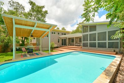Pool - Welcome to Austin! This unique butterfly house is professionally managed by TurnKey Vacation Rentals.