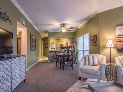 Photo for Clearwater Condo at Inverness- Comal riverfront, across street from Schlitterbahn!