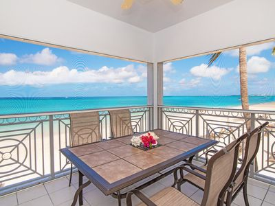 Photo for Oceanfront Luxury on Breathtaking Seven Mile Beach