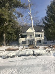 Photo for Grand View Lakefront Cottage - direct Snowmoble and ATV , ITS trail access