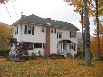 Photo for Leaf Peepers Delight sleeps 15+! Hiking, biking, walk to downtown Windham!