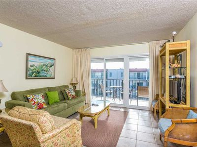 Photo for Wake Up to the Sounds of Ocean! Oceanfront Condominium Great for Small Families!
