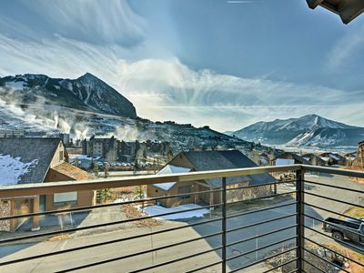 Photo for Crested Butte Townhome w/Views - Steps to Lifts!