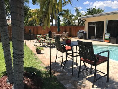 Photo for STUNNING 2500 S/F 3/2, Large Yard & Pool. 3 Miles to Beach. Close to EVERYTHING!